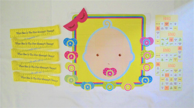 Ultimate Baby Shower Game Kit