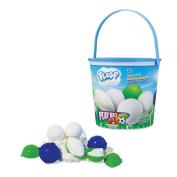 Floof Modelling Clay - Reusable Indoor Snow - Play Ball With 4 Sports Ball Moulds