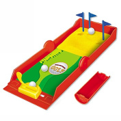 Desktop Mini Golf Set Toy , Funny Finger Sports Toy Golf Play Game Toys For Kids