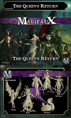 Malifaux: Neverborn - The Queen's Return - Titania Crew