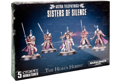 Warhammer 40k Sisters of Silence (Void-Souled Witch-Killers)
