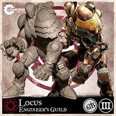 Guild Ball: Engineer's Guild - Locus (Season 3)