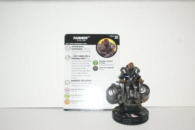 Wizkids Heroclix Deadpool & X-Force-Hammer Rare #59a w/ card