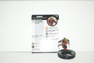 Marvel Heroclix Deadpool & X-Force 038b Terror