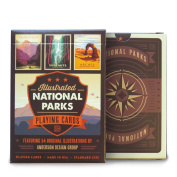 Illustrated National Parks Playing Cards