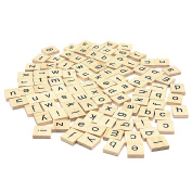 Trimming Shop Set Of 1000 Wooden Scrabble Tiles Letters For Board Games, Wall Decor & Arts And Crafts