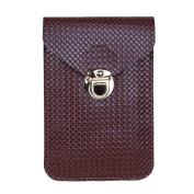Women Mobile Phone Bag Mini PU Leather Cross-body Messenger Bag Purses Shoulder Bags Wallet Pocket