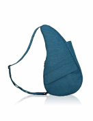 The Healthy Back Bag textured Nylon Turkish Blue with Ipad compartment Medium