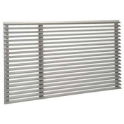 Friedrich Uni-Fit Outdoor Architectural Louve- Clear Anodized, Extruded Aluminium, UXAA