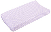 Sweet Potato Fiona Changing Pad Cover Micro Dot, Purple/White