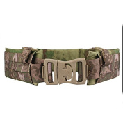 H World Shopping EMERSON Tactical Molle Waist Padded Patrol Battle Belt Military Hunting A-tacs FG