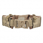 H World Shopping EMERSON Tactical Molle Waist Padded Patrol Battle Belt Military Hunting A-tacs AT