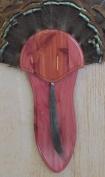 The Taxidermists Woodshop Cedar Turkey Mounting Kit with Long Beard Plate