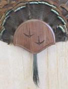 The Taxidermists Woodshop Black Walnut Carved Turkey Mounting Kit -01