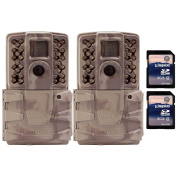 Moultrie A30i 12MP 18m Video No Glow IR Game Trail Camera + 8GB SD Card