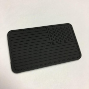 Reverse US Flag PVC Patch - BLACK OUT EDITION
