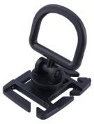Gracefulvara 2pcs Backpack Bag Webbing Connecting Buckle Clip EDC Outdoor Tool