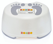 Zohzo Kids Bathroom Step Stool - Children's Step Stool For Babies and Toddlers - Lightweight & Easy To Clean Plastic Children Step Stool | Ideal For Potty Training, Hand Washing, Teeth Brushing