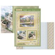 Hunkydory Crafts Primrose Lane Heartfelt Wishes Topper Set Card Kit PRIMLANE905
