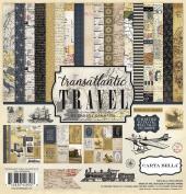 Carta Bella Paper Company Transatlantic Travel Collection Kit
