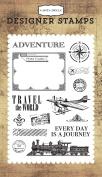 Carta Bella Paper Company Travel the World Stamp