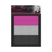 Sara Davies Glamour Craft Signature Collection - A4 Luxury Glitter Card