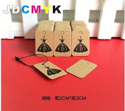 Hot sell skirt tags Jewellery and watch tags Size