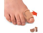 Elitzia Toe Separator Bunion Protection Hallux Valgus Gel Corrector Foot Protection and Care Toe Correction Tool