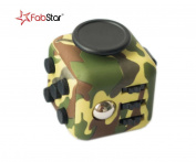 The Fidget Toy - Relieves Stress and Increases Focus for Adults and Children with ADHD ADD OCD Autism - Camo Edition