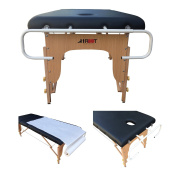 H-ROOT Paper Roll Holder For Massage Tables, holds paper rolls from 50cm to 100cm.