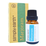 Marjoram Essential Oil by Simply Earth - 15ml, 100% Pure Therapeutic Grade