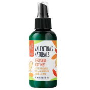 Valentina's Naturals Natural Body Mist, Sunny Outlook, 120ml
