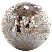 Champagne 10cm Mosaic Deco Sphere