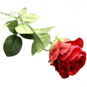 1PCS Artificial Fake Flowers, Leewa Great Gift Roses Festival Bouquet Wedding Party Home Decor