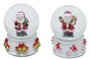 Merry Christmas Waterball Santa Claus Father Christmas Snow Globe Dome - Design Varies