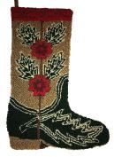 Holiday Lane Christmas Needlepoint Patterned Stockings