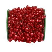1 Roll DIY Craft Beads Chain String Fishing Line Making Jewellery Garland Wedding Decor Beads Thread Red 60M
