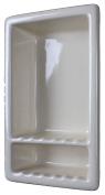 Large Shower Niche Shelf Gloss White