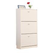 ALUK- European-style Simple Modern Dumping Ultra-thin Large-capacity Shoe Rack Hall Cabinet (wide 70cm Deep 24cm High 108cm)