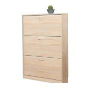 ALUK- European-style Simple Modern Dumping Ultra-thin Large-capacity Shoe Rack Hall Cabinet (wide 80cm Deep 17cm High 108cm)