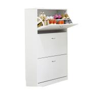 ALUK- European-style Simple Modern Dumping Ultra-thin Large-capacity Shoe Rack Hall Cabinet (wide 80cm Deep 24cm High 108cm)