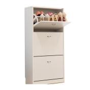 ALUK- European-style Simple Modern Dumping Ultra-thin Large-capacity Shoe Rack Hall Cabinet (wide 60cm Deep 24cm High 108cm)