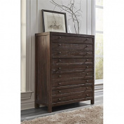 Modus Townsend 5 Drawer Solid Wood Chest in Java