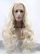 Heahair Blonde Wave Synthetic Lace Front Wigs HS2030