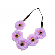 Alonea Beautiful Flower Headbands For Girls Bohemian Style Garland Floral Garland