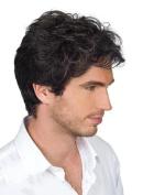 Men really false hair short hair male hair handsome upscale rose hair nets hair