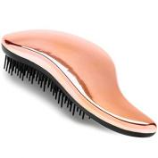 Lily England Detangling Brush - Detangler Hairbrush for Wet, Dry, Fine, Thick & Kids Hair - Rose Gold