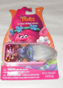 Dreamworks Trolls Lip Gloss - Bubble Gum Flavour Lip Gloss in Slide Out Lip Compact that has Troll Hair on outside