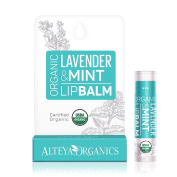 Alteya Organics USDA Organic Lip Balm with Lavender & Mint