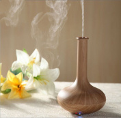 Enshey NEW Woodgrain Ultrasonic Aroma Essential Oil Diffuser Quiet Cool Mist Humidifier Air Humidifier Automatic Shut-off Essential Oil Fragrance Machine Ioniser for Office Home Bedroom Baby Room Stud